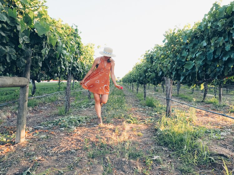 Temecula Valley - How to Take Amazing Photos of Yourself when Traveling Solo
