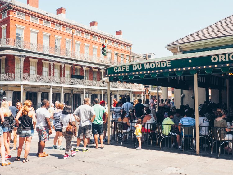New Orleans photography - Cafe Du Monde