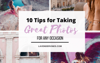 Tips for taking great photos of yourself