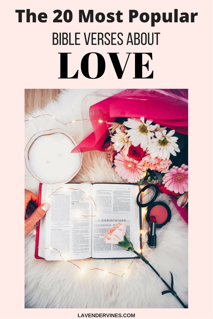 The 20 BEST Bible Verses About LOVE
