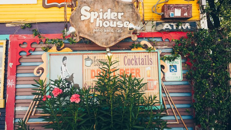 Spider House Patio Bar & Cafe - Things to do in Austin, Texas