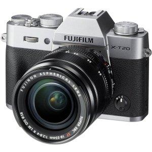 Best Mirrorless Cameras - Fujifilm-X-T20