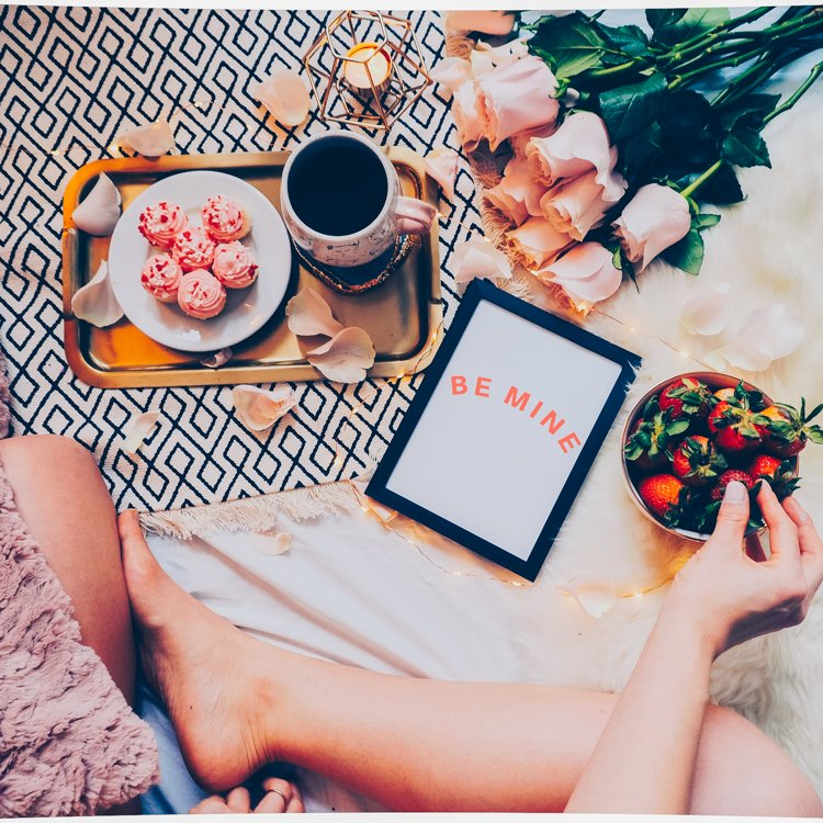 Flatlay-Valentine's-Day - How to Create the Perfect Flatlay