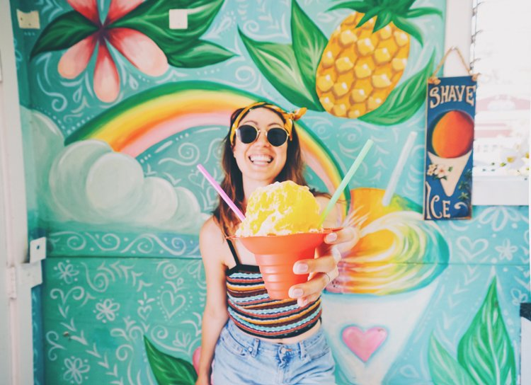 Hawaii Instagram Spots - Malia's Hawaiian Shave Ice