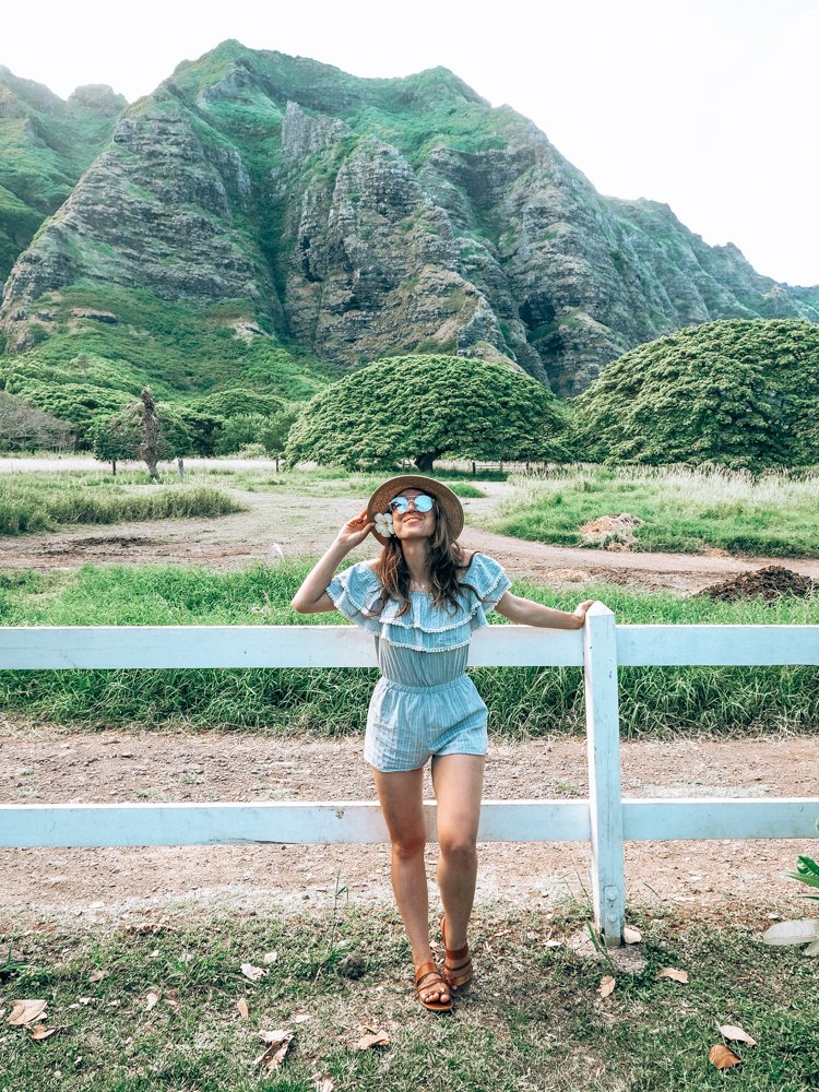 Hawaii Instagram Spots - Kualoa Ranch