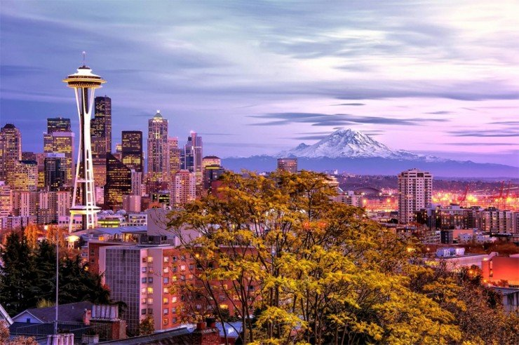 Best Places to Visit in the Fall - Seattle, Washington