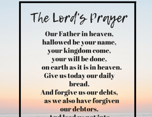 The Lord's Prayer Meaning
