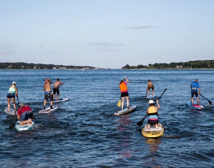 Portland Maine tours - Portland Paddle Board Tour