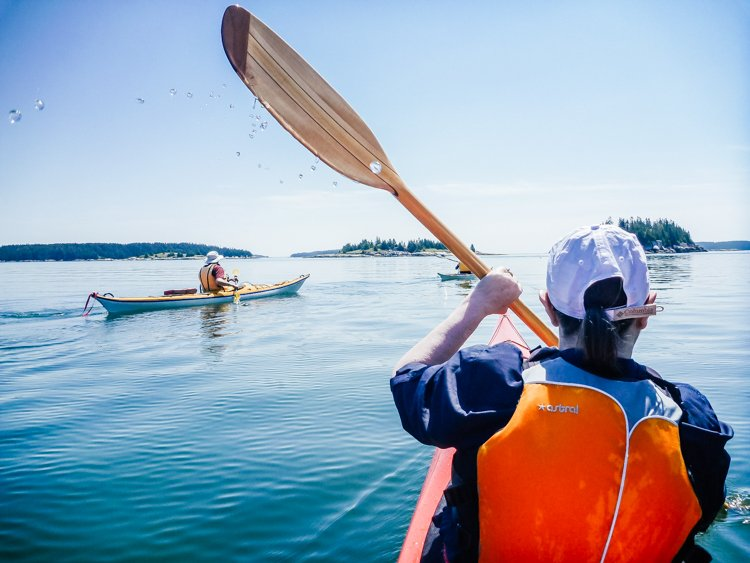 Portland Maine tours - Portland sea kayaking tour