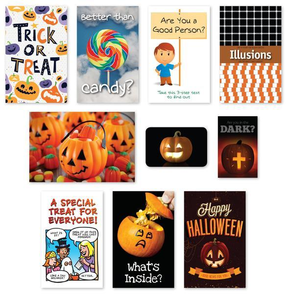 Christian Halloween Tracts