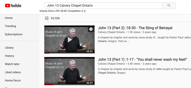 Top Bible Study Tips - Calvary Chapel Ontario YouTube