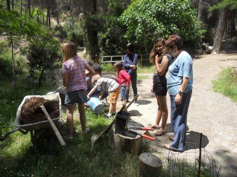 DIA DEL ARBOL 2011, Candela, Inma, Nagore, Olga, Paula, Victor, ...