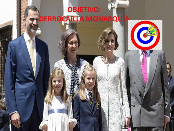 Derrocar La Monarquía española