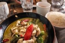 My curry vert dish.