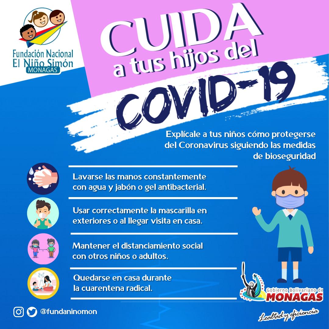 prevención del covid-19 fundación del Niño