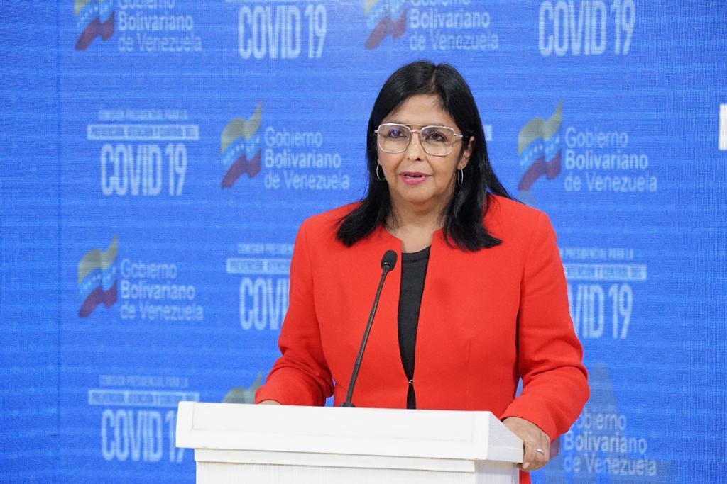 La vicepresidenta Ejecutiva de la República, Delcy Rodríguez