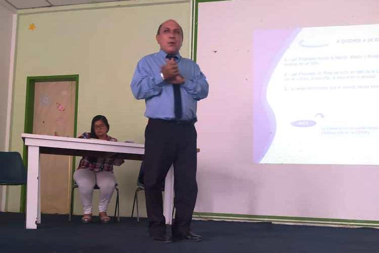comerciantes de maturín luis díaz ponente del foro sobre impuestos municipales