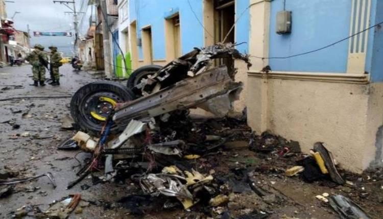 El atentado carro bomba Cauca