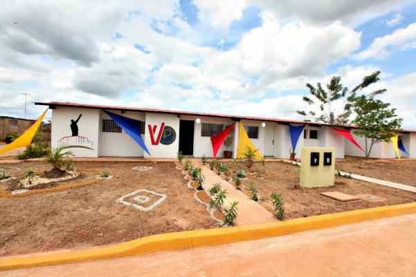 35 viviendas en Monagas