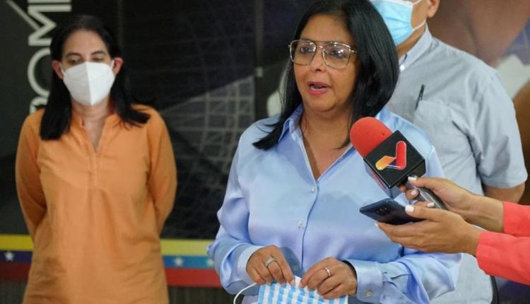 Delcy Rodríguez Covid-19 en Venezuela