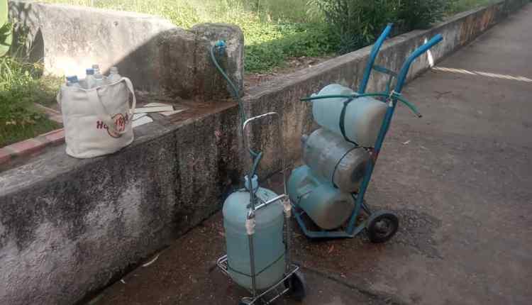 Los Guaritos agua