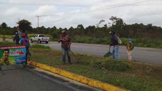 alcaldia de maturin avanza en la jornada de limpieza integral y embellecimiento en el municipio 1
