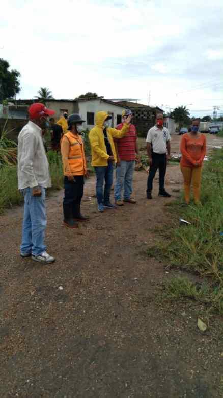alcaldia de maturin inspecciona comunidades afetadas por las lluvias 2