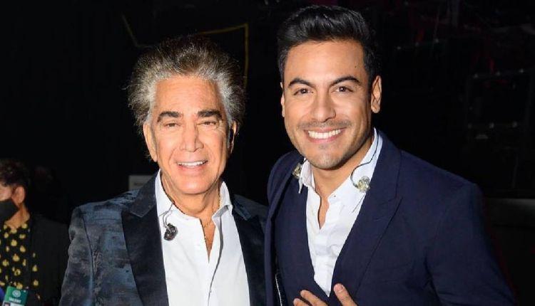 El puma y Carlos Rivera