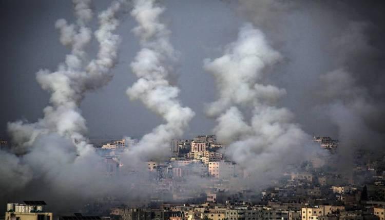 el sistema de defensa israeli intercepta cohetes lanzados desde gaza