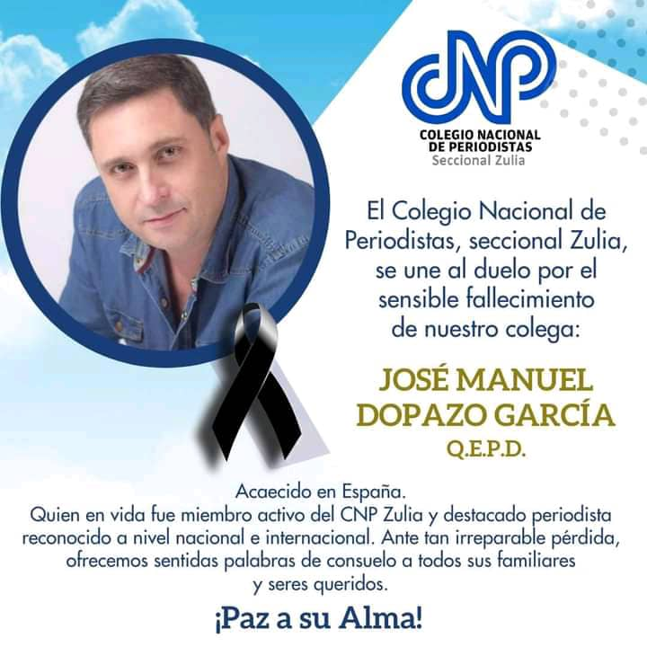 Nota de duelo - José Manuel Dopazo