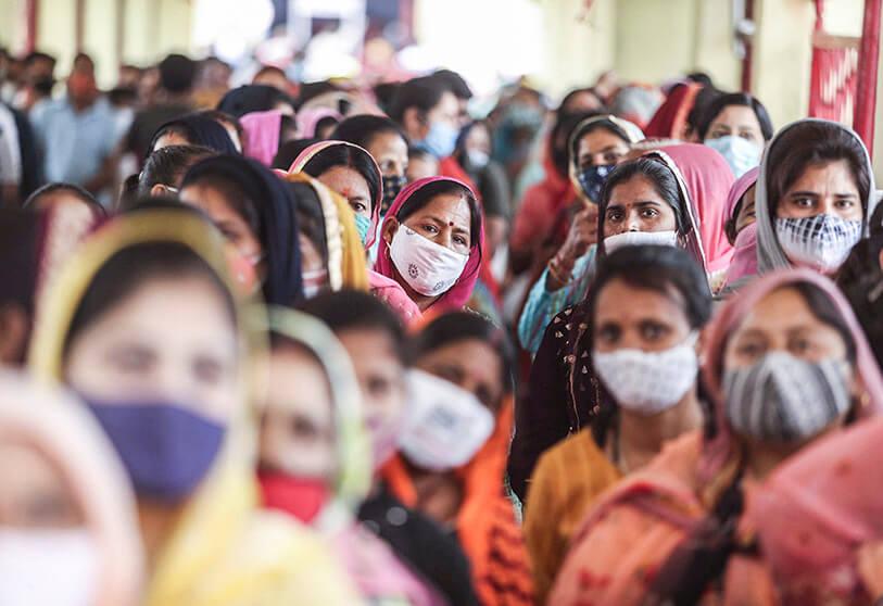 india supera los 27 millones de contagios por coronavirus