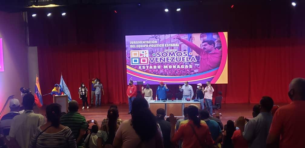 roberto messuti juramento al equipo politico de somos venezuela monagas 3
