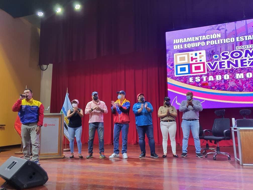roberto messuti juramento al equipo politico de somos venezuela monagas 5