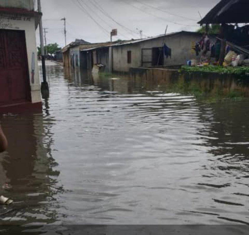 aguas aun siguen dentro de las viviendas en barrancas del orinoco laverdaddemonagas.com