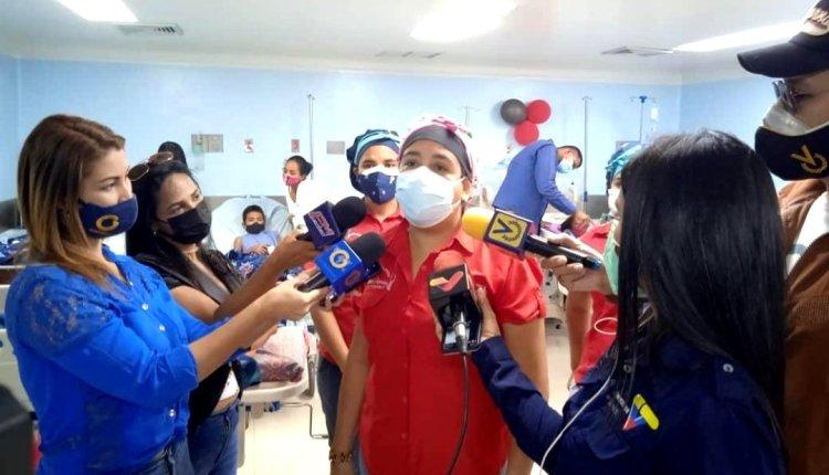 Milagros Urbina cirugías pediátricas