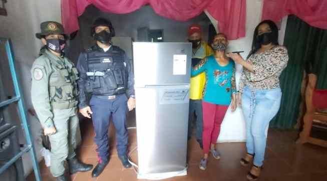 la gestion en positivo del alcalde wilfredo ordaz continua llevando alegrias a los hogares de maturin laverdaddemonagas.com nevera2
