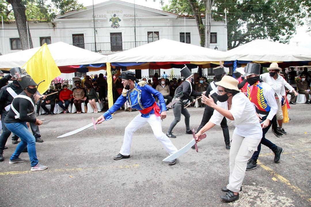 monaguenses conmemoran bicentenario de la batalla de carabobo con actos culturales laverdaddemonagas.com carabobo1