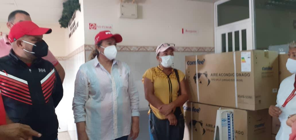 dotan al hospital de zamora de aires acondicionados y una ambulancia laverdaddemonagas.com zamora2