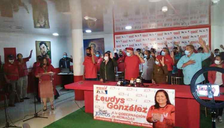 Los comandos de campaña de Leudys González quedaron juramentados