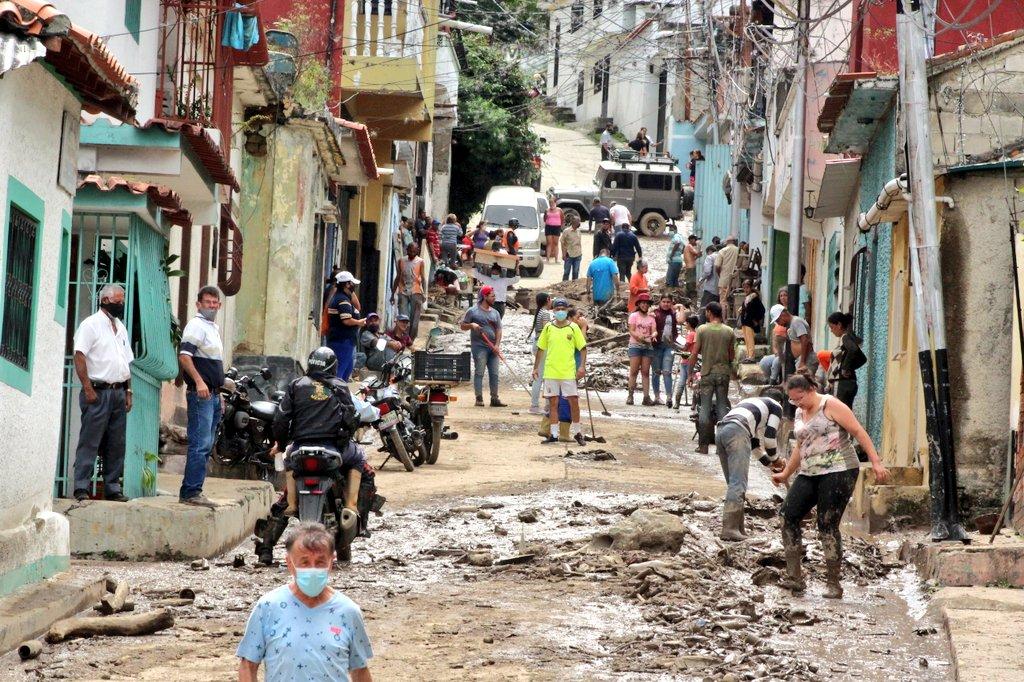 Inundaciones en Mérida