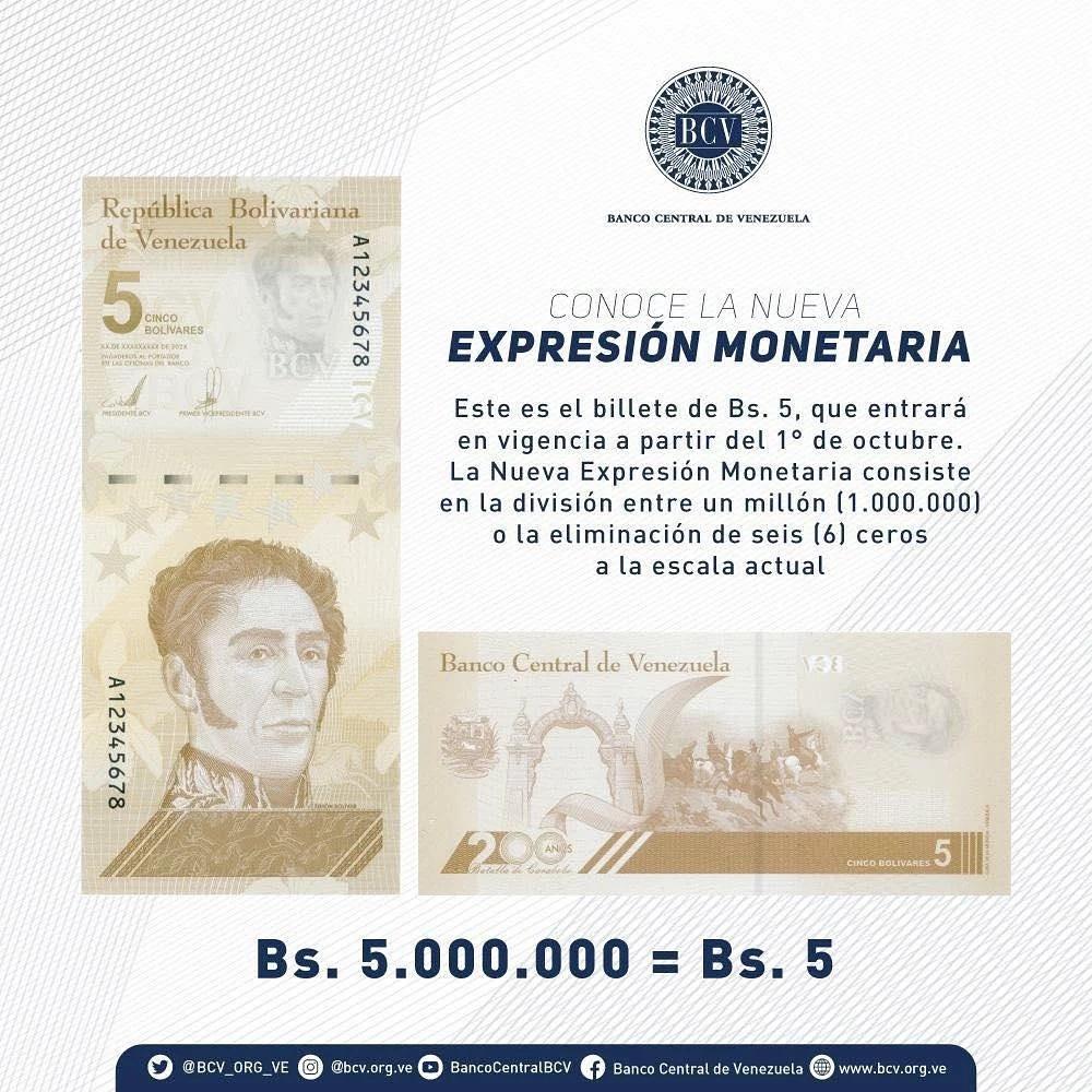 conoce los billetes del nuevo cono monetario laverdaddemonagas.com 231473589 931691221062681 9098234280654786170 n