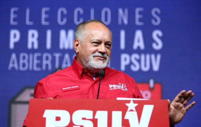 DIOSDADO CABELLO PSUV PRIMARIAS