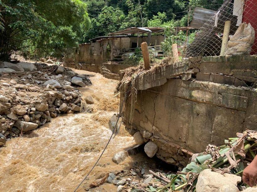 Lluvias generan inundaciones y daños considerables en Mérida