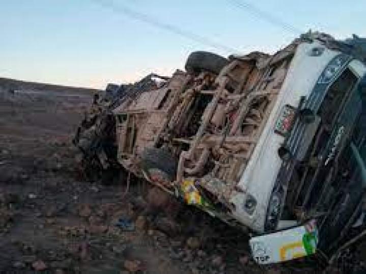 mueren 17 pasajeros en un bus que cayo a un barranco en peru laverdaddemonagas.com bus 3