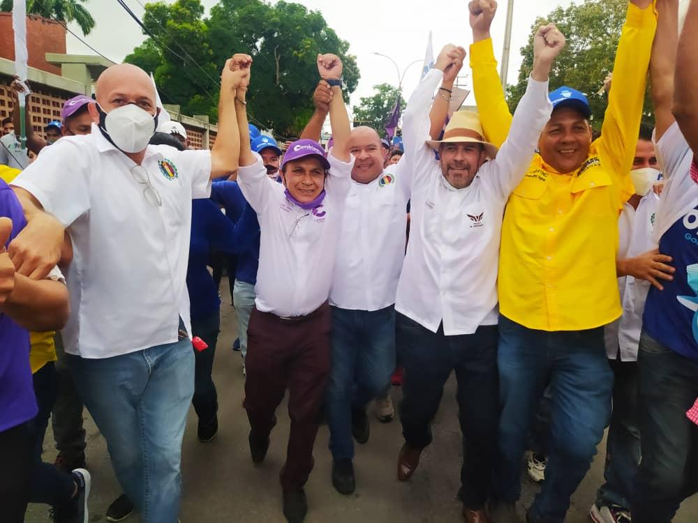 alianza democratica marcho y tomo la calle infante de maturin laverdaddemonagas.com marcha1