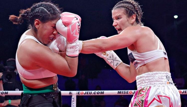 boxeadora Jeanette Zacarías