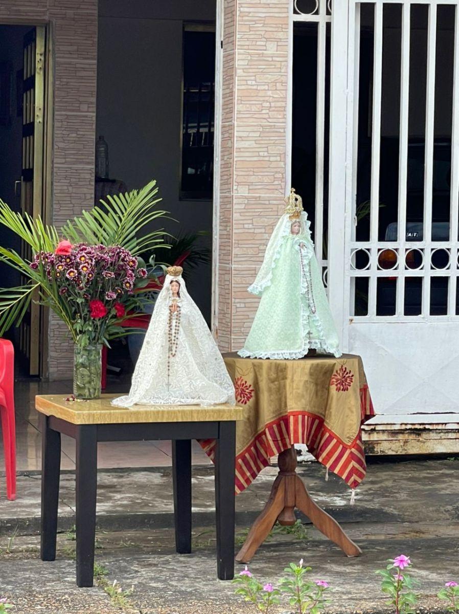 devocion a vallita presente a su paso por calles de maturin laverdaddemonagas.com va8