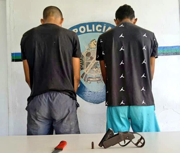 dos integrantes de la banda copete amarillo fueron capturados en temblador laverdaddemonagas.com whatsapp image 2021 09 12 at 8.09.43 am 1