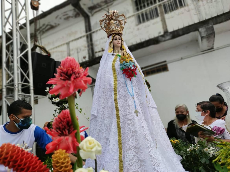 feligresia monaguense clama a vallita por la paz y el reencuentro laverdaddemonagas.com la virgen1