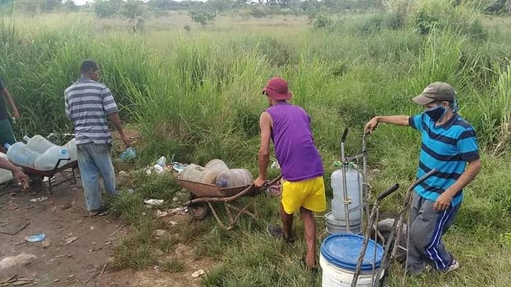 Escasez de agua en Maturín.